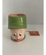 "Looney Tunes Ceramic Coffee Mug Elmer Fudd  4"" Tall Vintage 1989 with tag - $20.00"