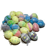 Easter Egg Ornaments Handmade Collectible Decorations  - $457,33 MXN