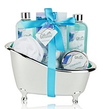 Spa Gift Basket with Refreshing Ocean Bliss Fragrance - Best Graduation,... - $38.78