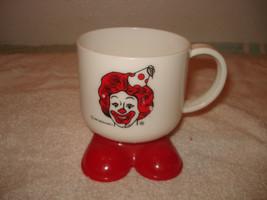 Vintage 1985 McDonalds Ronald McDonald Red Feet Plastic cup - $13.85