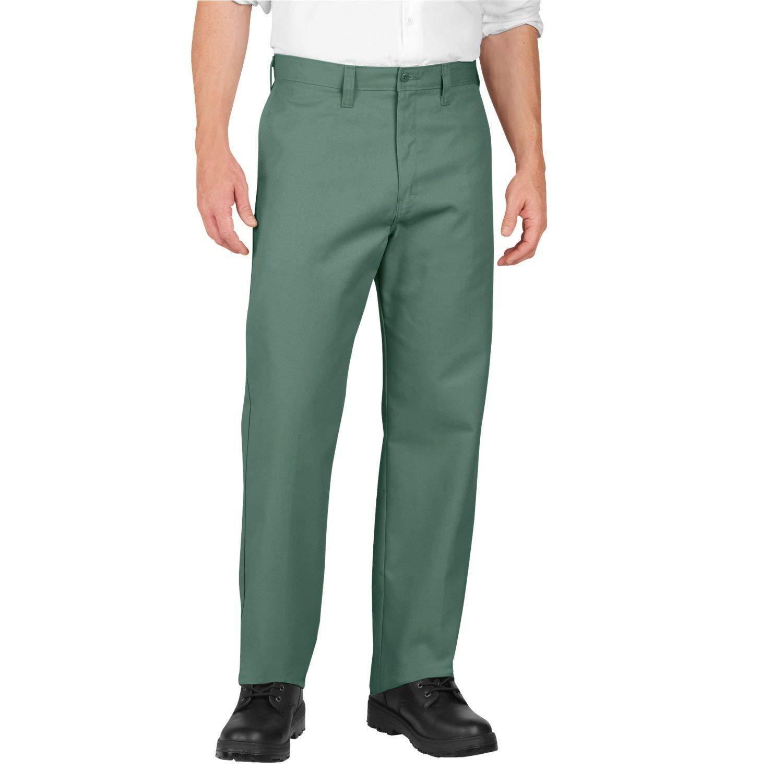 2a64f4d3153 DICKIES Men's Industrial Work Pants Twill Green Unhemmed Size 30 UL NEW NWT  - $12.00