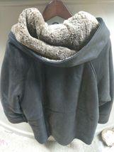 Walter Davoucci Women  Lambskin Leather Shearling Jacket Sz Medium Coat image 8