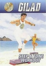GILAD BODIES IN MOTION STEP & TONE WORKOUT DVD NEW STEP AEROBICS EXERCIS... - $14.50