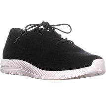 Easy Spirit Gerda Lace Up Sneaker, Black, 5 US - $34.55