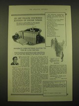 1924 Doubleday, Page & Co. Ad - An Art Vellum inscribed edition of Oscar Wilde - $14.99