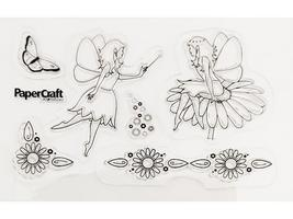 Paper Craft Clear Fairy Stamps, Set of 6