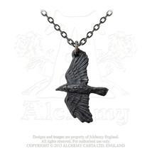 Ravenine Pendant by Alchemy Gothic - $17.50