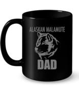 Alaskan Malamute Dad Dog tee Ceramic Mug Ceramic Mug Ceramic Mug - $13.99+