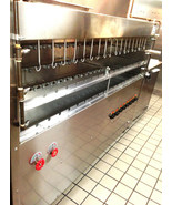 BRAZILIAN GAS GRILL FOR BBQ - 53 SKEWERS - NSF APPROVED - PROFESSIONAL G... - $8,002.50