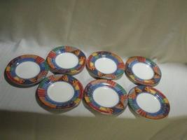 "7 Johnson Brothers Caribb EAN 6 1/4"" Bread Plates - $44.55"