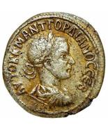 GORDIAN III Silver Tetradrachm Aries Ram moon Eagle Ancient Roman Empire... - $251.10