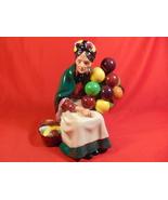 "7 1/2"" Tall, Royal Doulton, HN1315 Figurine. The Old Balloon Seller. - $29.99"