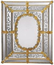 Wall Mirror DAVID MICHAEL REFLECTIONS XVII C 17th Gold - $7,509.00