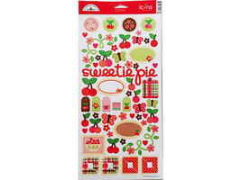 "Doodlebug Designs ""Cherries Jubilee"" Cardstock Sticker Set #2173"