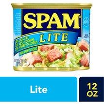 3 Spam 50% Less Fat & 25% Less Sodium Lite Luncheon Meat 12 oz  - $19.88