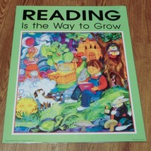 Vintage READING is the way to Grow Poster Classroom laminated - $19.99
