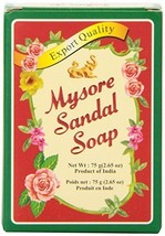 10 BARS!  Mysore Sandalwood Soap 125grams EXPORT QUALITY USA SELLER FAST... - $17.95
