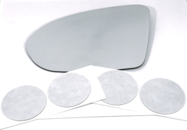 Fits 16-19 Cruze, 18-19 Regal Left Driver Heated Mirror Glass Lens w/ Ad... - $49.45