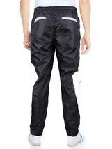 LR Men's Retro Urban Lightweight Athletic Casual Striped Gym Track Sweat Pants image 4