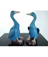 Large c1920 Chinese Republic Period Duck figures - $420.75