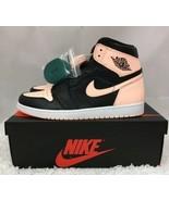 Nike Air Jordan 1 Retro High Black Crimson Tint 555088-081 Men's Size 11.5 - $210.03