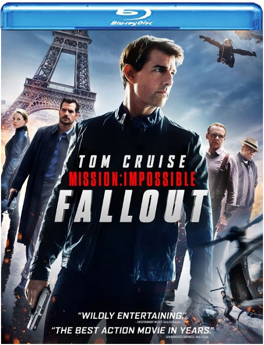 Mission: Impossible - Fallout  [Blu-ray + DVD + Digital]
