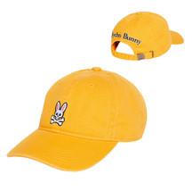Psycho Bunny Men's Cotton Embroidered Skull Sports Baseball Cap Strapback Hat
