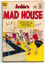 Archie's Mad House # 19 1962-1st Hilda the Witch- reading copy - $52.96