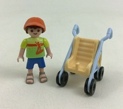 Playmobil 4850 Large Zoo Replacement Child Stroller Building Toy Piece P... - $11.83
