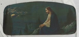 Jesus Religious Wall Lithograph Print Vintage - $39.59