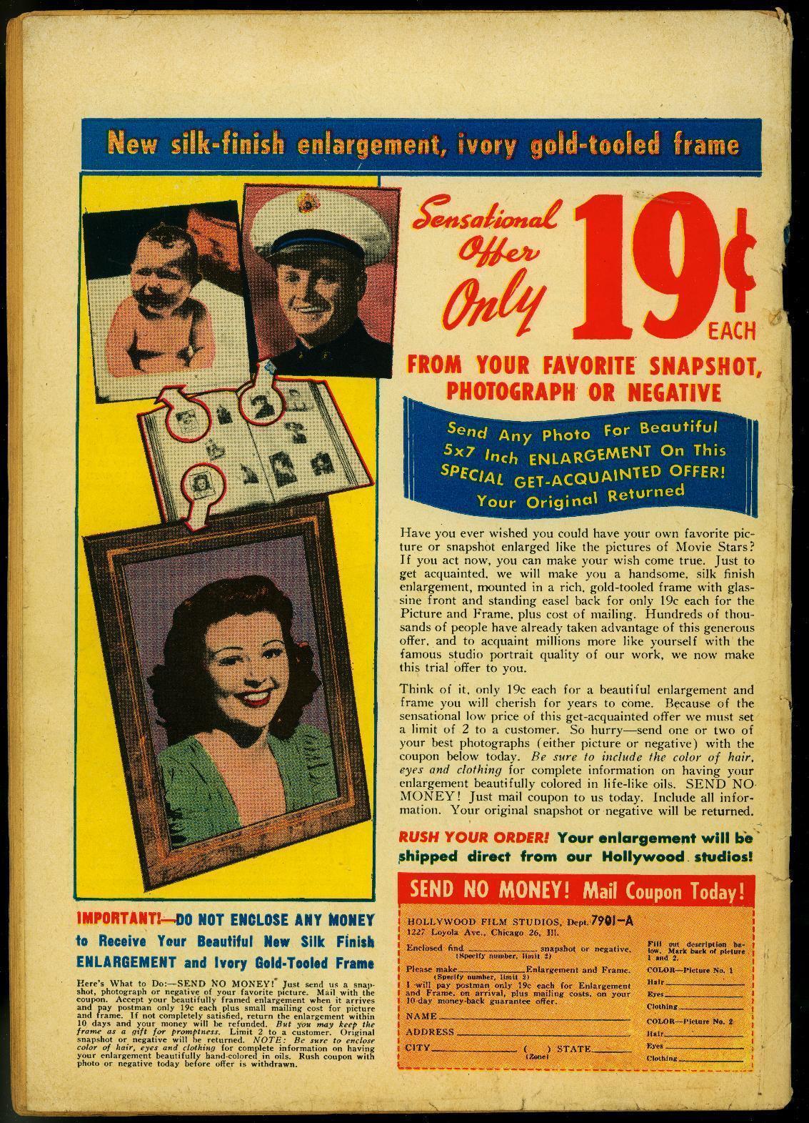 PETER PORKCHOPS #4 1950-DC COMICS-FUNNY ANIMAL  RARE VG-