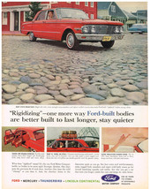 Vintage 1963 Magazine Ad Ford For 60 Years The Symbol of Dependable Prod... - $5.93