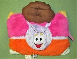 "DORA the Explorer PILLOW PETS Plush Stuffed 2011 Nickelodeon 17""x18"" Stu... - $14.03"