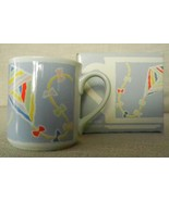 Vintage 1985 Hallmark Coffee Mug Kites Spring Fever New in Box but No Co... - $17.77