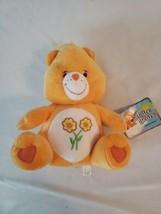 "Care Bears Friend Bear Orange Plush Toy Nanco  2003 With Tag 9"" - $14.96"
