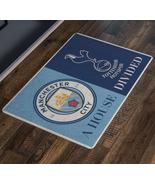 Manchester City Tootenham A Hose Divided Doormat Welcome Man Cave Decor - $29.73