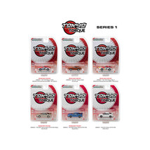 Tokyo Torque Series  / Release 1, 6pc Set 1/64 Diecast Model Cars by Gre... - $51.53