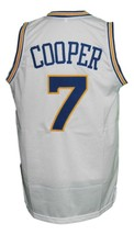 Mark Curry #7 Hangin With Mr Cooper Tv Basketball Jersey Sewn White Any Size image 5