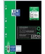 Oxford Etudiants SOS Notes Sheet Double 400 Pages Large Squares A4 White - $15.84