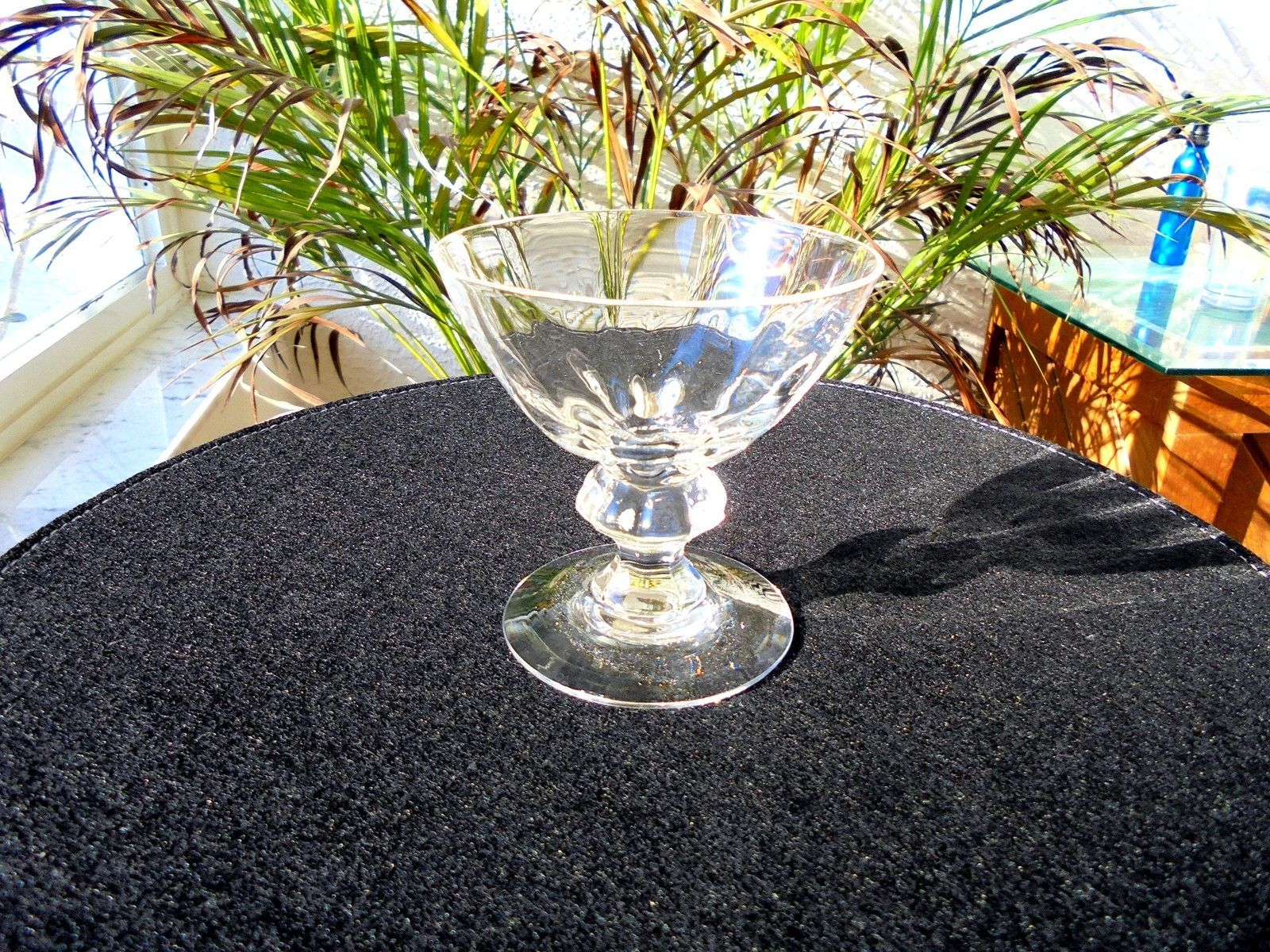 Primary image for Set of 5 Heisey Legionnaire Clear Champagne Glasses