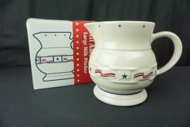 Longaberger Pottery All American Large Milk Pitcher #35491 - $52.95