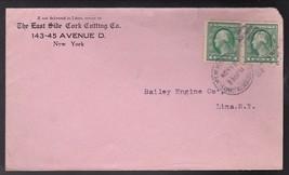 The East Side Cork Cutting Co. New York, Ny November 13 1912 - $3.43