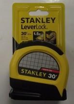 Stanley STHT30830 30' Leverlock Tape Measure Ruler 1-Inch x 30ft - $9.90
