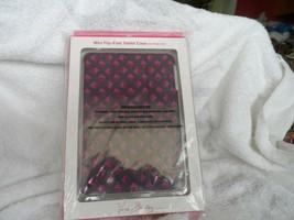 Vera Bradley Mini Flip Fold Tablet Case in Plum Studs - $13.00
