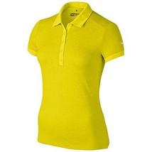 Nike Icon Heather Golf Polo 2017, Electrolime/Heather/White, Small - $44.55