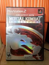 Mortal Kombat: Armageddon - Playstation 2 Game Complete - $9.77