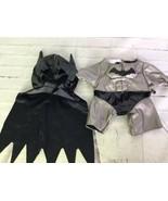Build A Bear DC Comics Batman Outfit Mask Cape Cowl Suit Costume Clothin... - $19.79