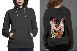 Goku Dragon Ball Super Classic Black Women's Hoodie - $28.80