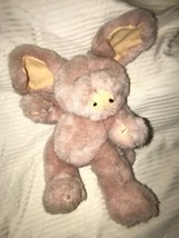 """1985 BOYDS BEARS PLUSH PIG PINK 11"""" VGC jointed head arms and legs moveable - $9.89"""