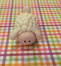 Sheep fondant cake topper - $30.00